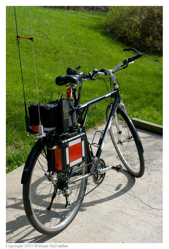Amateur Radio Station Wd8rif Bicycle Mobile
