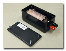 The 1:1 air-core balun -- click to enlarge