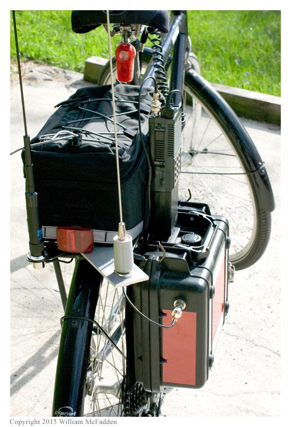 Amateur Radio Station WD8RIF   Bicycle-Mobile