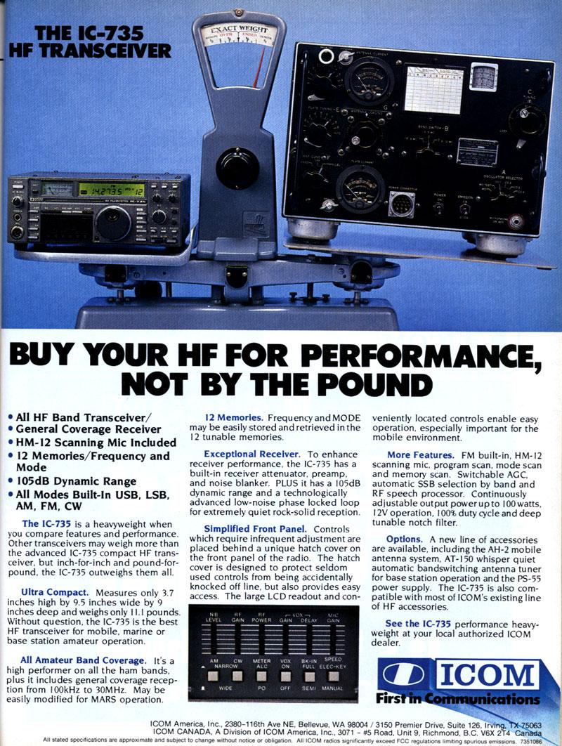 amateur radio station wd8rif archives articles rh wd8rif com Ham Radio Backgrounds Icom Commercial Radios
