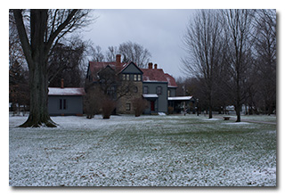 The James A. Garfield House -- click to enlarge