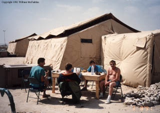 our tent (Y-12) at Al Dhafra AB