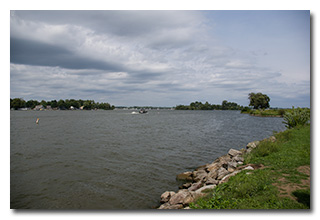 A view of Buckeye Lake -- click to enlarge