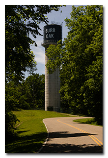 Burr Oak State Park Water Tower -- click to enlarge