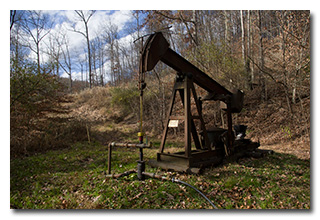 An inactive oil well -- click to enlarge
